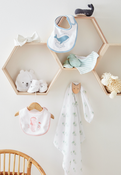 Schmusetücher und weitere Baby-Kleidung